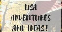USA Adventures and Ideas! / Places, adventures, and ideas for travel in the USA!