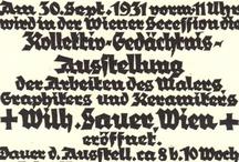 Typographic – various