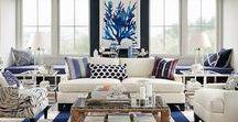 Coastal Chic Style for the Home / Coastal home decor