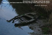 Sad is Happy for Deep People / I love old things. They make me feel sad.  / by Kira