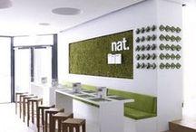 DESIGN } Commercial interiors