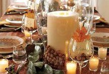 Decor: Thanksgiving / by Kristen Statema