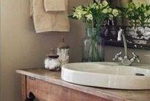 Home: Decor: Bathrooms / by Kristen Statema
