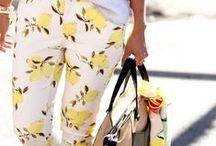 Fashion: Work Wear: Coloured Jeans / by Kristen Statema