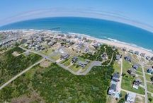 OBR | Aerial Photography / Aerial Photos of Hatteras Island and the homes that make up this beautiful place.  #OuterBeachesOutie  / by Outer Beaches Realty