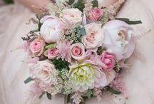 Wedding Bouquet - Summer / Bridal bouquet Inspiration - summer flowers.