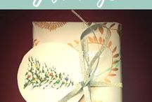 Gift Wrapping / Ideas for wrapping any kind of present for a party