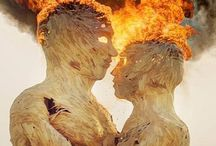 """Burning Man / Amazing experiment in community and art, influenced by 10 main principles, including """"radical"""" inclusion, self-reliance and self-expression, as well as community cooperation, civic responsibility, gifting, decommodification, participation, immediacy and leaving no trace."""