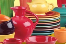 Dishes - I love Dishes! / I love dishes, especially Fiestaware and Jadite.  :)
