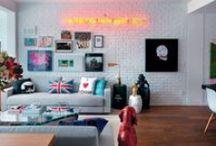 Design    Interior / Boas ideias para decorar o seu ambiente.