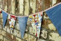 Upcycling  / Showing some of my own upcycled and recycled makes, together with some amazing creative makes by others