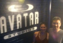 Summer 2012 - Visiting Our Friends At Avatar Studios