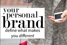 Personal Branding + Online Presence Things I Love / Personal Branding, Online Presence, Branding Yourself / by Joy Martinez
