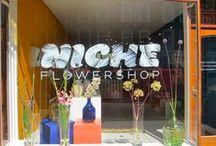 Niche flowershop / Nieuwe Binnenweg 235A, Rotterdam open tuesday-saturday 11:00-18:00