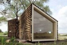 Micro Architecture / Demountable, portable, transportable, inflatable, systematised, flat-packed, programmeless, pavilions, sheds, tree houses and more. / by Virginia McLeod