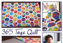 Quilts & Paper Piecing / Patchwork, Quilts und Paper Piecing
