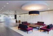 RAW Invesco 125 London Wall / Brand environment, office interior design, workplace design.