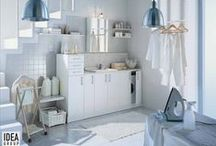 Laundry Furniture / Ideagroup solutions for difficult spaces: who said the laundry area had to be hidden?