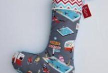 The Old Button Christmas Makes / Handcrafted Christmas Stockings and Sacks