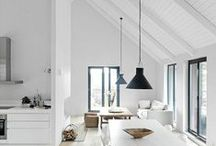 Achievable Contemporary Living / A gorgeous selection of achieveable contemporary interior design looks for the less ordinary person like me and you.
