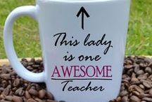 Gorgeous Gifts for Teachers / Does your child have a less ordinary teacher thats really gone out of their way this term? Let your child's teacher know just how appreciated they are.  We have a gorgeous selection of personalised teacher gifts and pocket money gifts - better than another box of chocolates! #GWAGForATeacherLessOrdinary