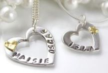 Impressions To Keep - Personalised Silver Handprint, Fingerprint & Footprint Jewellery & Gifts / A collection of beautiful handcrafted silver personalised jewellery and gifts with the fingerprints, footprints, handprints and even paw prints of your loved ones.