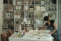 My Creative Space Ideas / Ideas to inspire me for when I create my own woman cave creative space