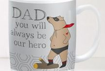 GORGEOUS FATHERS DAY GIFTS 2016 / Lots of lovely gift ideas for your Dad this fathers day.  From leather wallets to personalised prints, from chocolates to novelty coffee mugs.  Team Gorgeous have so much choice for you and your Dad this Fathers Day 2016.