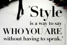 My Style / I have my own style...I am a mix of urban chic, preppy, edgy, classy. I love to get all dressed up and crave unique and eccentric pieces for my collection. I LOVE to shop boutiques for one of a kind finds:) / by Christine Hill