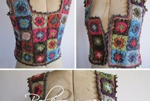 crochet - tops/vest/ / by Colleen Heath