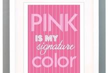 50 Shades of Pink / Pink shades