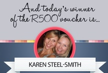 Competitions / Check out the winners of our daily R500 fashion voucher! Visit this link to find out how you can also win: http://on.fb.me/Rct8SW