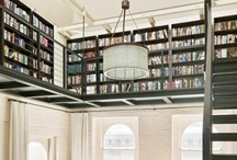 libraries + cabinets of curiosities