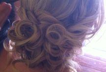 Bridal upstyles - braids