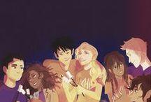 Percy Jackson and Co.  / by Makana O.