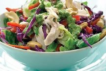 salad ideas / Crisp and crunchy salads for sides, lunch and dinner.