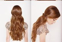 Hair {Up-dos, How-tos, and More} / by Nicole Lechner