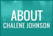 Lifestyle: About Chalene Johnson / All the crazy stuff I love - a sampler plate of who I am