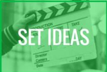 Business: Set Ideas with Chalene Johnson / Ideas for filming
