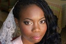 African American makeup and hair in Rome italy / Afro American makeup in Rome italy by Janita Helova