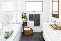 bath space.