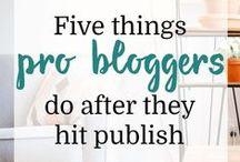 Blogging and Social Media / Tips for blogging and social media. ournextlife.com