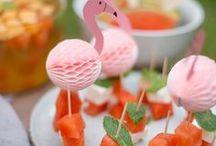 { Snacks und Party Buffet } / Rezepte zum Backen und Kochen für kleine süße und herzhafte Snacks für Zwischendurch oder für die nächste Party auch als Geschenke aus der Küche