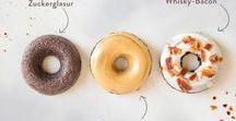 { Donuts } / Rezepte zum Backen und Ideen zum Dekorieren für Donuts