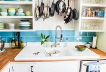 Eclectic Kitchens / Kitchen inspiration with an eclectic aesthetic