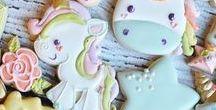 { Kekse dekorieren } / Ideen zum Backen und Dekorieren von Keksen als Geschenk aus der Küche oder für den nächsten Geburtstag