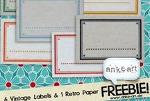 Scrapbooking Freebies by anke-art / Scrapbooking Freebies and Printables for creative paper crafts