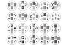 Nail Art Stamping Plates / by The Girlie Tomboy