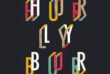 Typography / by JA H