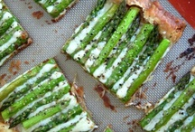 """asparagus / """"Asparagus, when picked, should be no thicker than a darning needle.""""  - Alice B. Toklas / by Cimmy Redmond"""